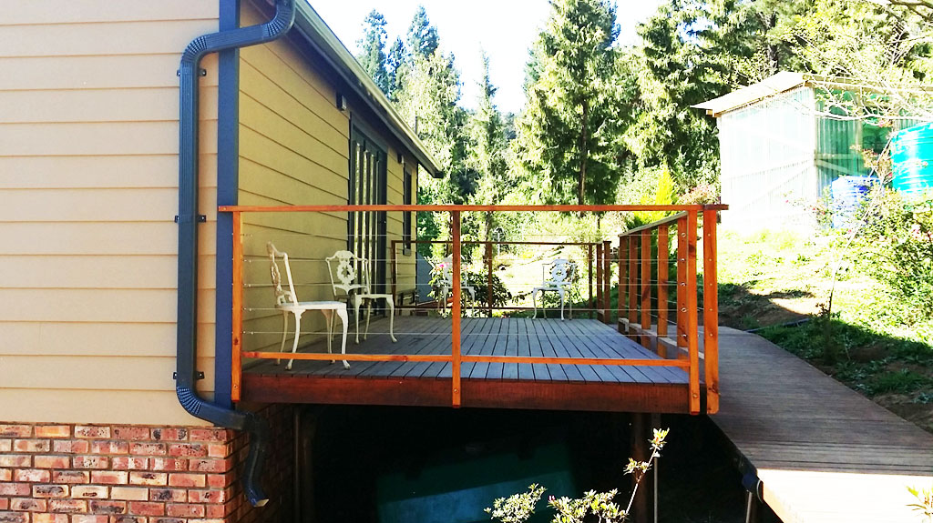 Mountain Retreat Deck