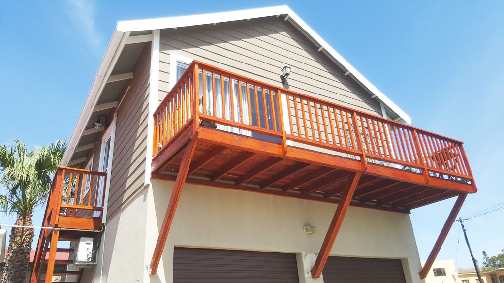 Holiday Home Deck